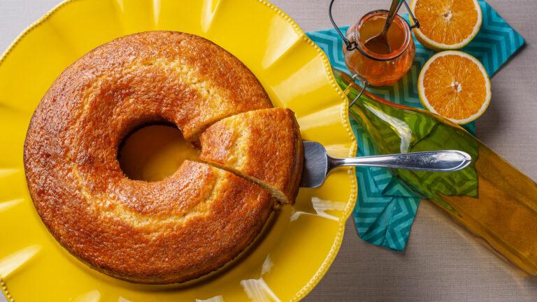 מתכון עוגת תפוזים אוורירית