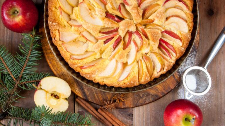 מתכון עוגת תפוחים של פעם