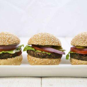 המבורגר טבעוני - מגשי אירוח