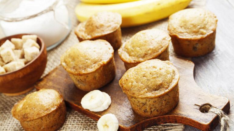 מתכון מאפינס בננה