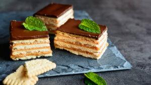 מתכון עוגת ביסקוויטים קלה