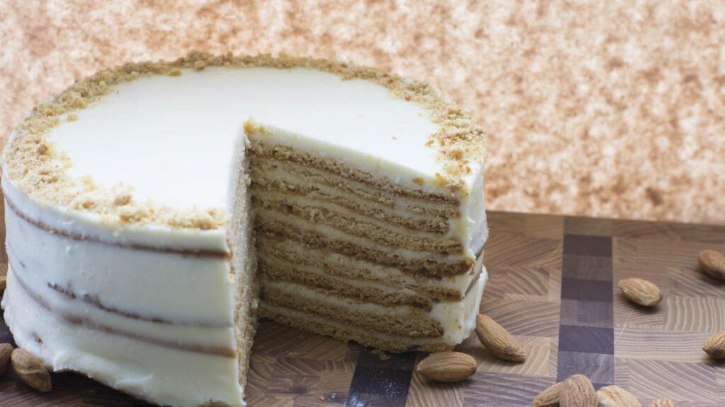 מתכון עוגת ביסקוויטים גבוהה