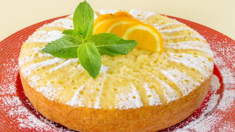 מתכון עוגת תפוזים עם אינסטנט פודינג