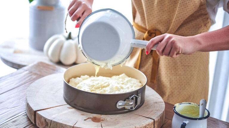 מתכון עוגת גבינה בחושה