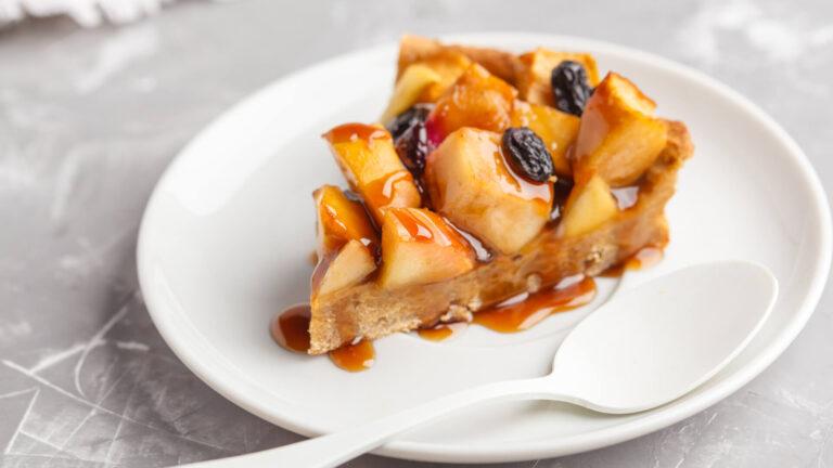 מתכון עוגת תפוחים טבעונית