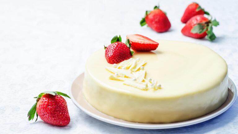 מתכון עוגת מוס שוקולד לבן